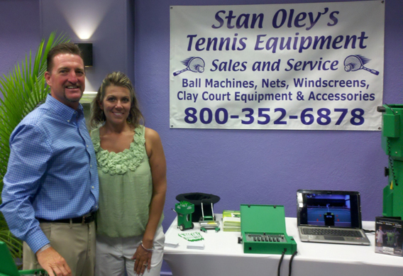About Stan Oley's Tennis Equipment Sales & Service Inc. in Florida